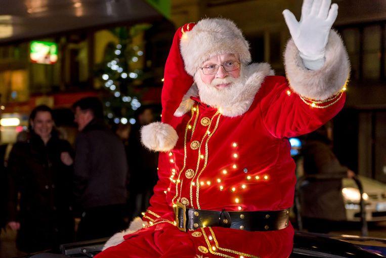 De Kerstman komt hoogstpersoonlijk naar Eeklo.