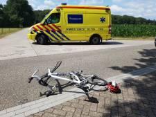 Wielrenner gewond bij aanrijding in Fleringen
