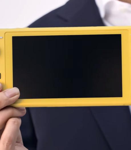 Nintendo présente sa nouvelle console portable
