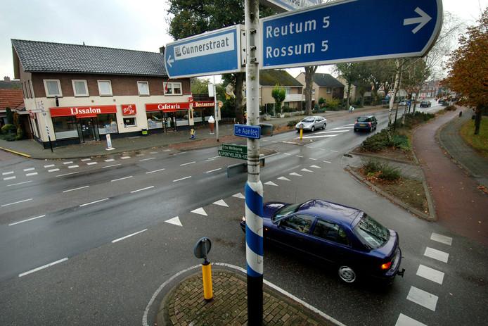 De Bisschopsstraat door Weerselo.