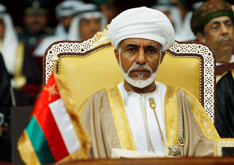 Sultan van Oman Qaboos bin Said al-Said in 2007.