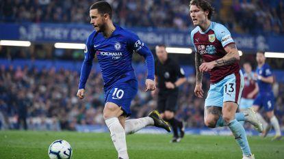 Duur puntenverlies voor Chelsea en Hazard in de strijd om Champions League-voetbal