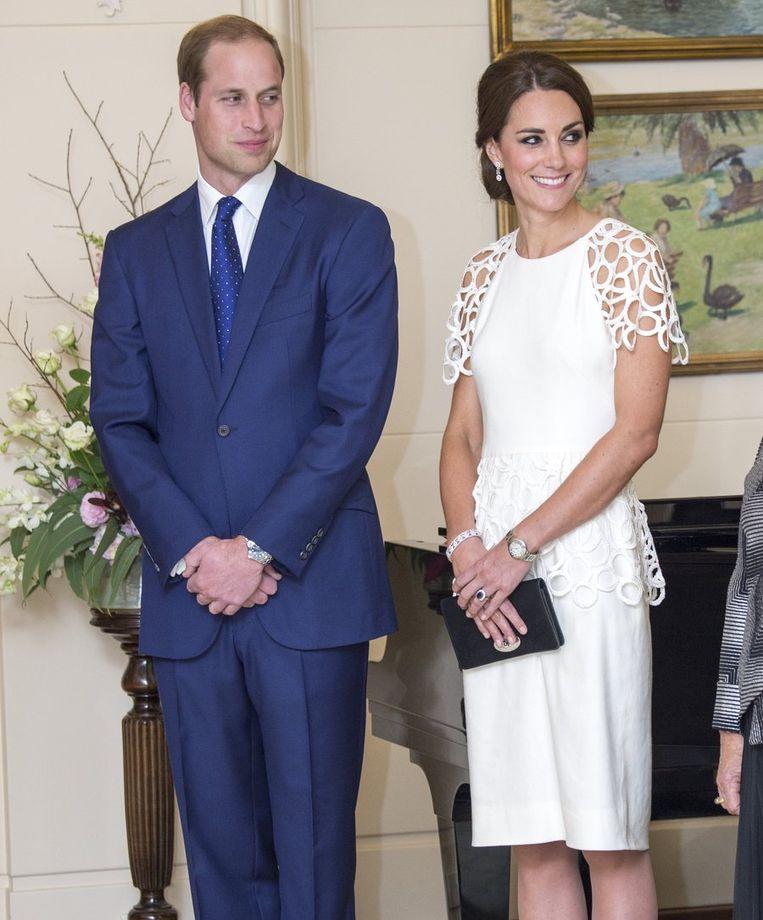 Prins William en zijn vrouw Kate Middleton