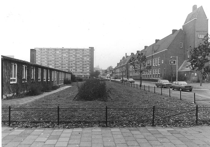 De Zwartewaalstraat in de Tarwewijk in Rotterdam.