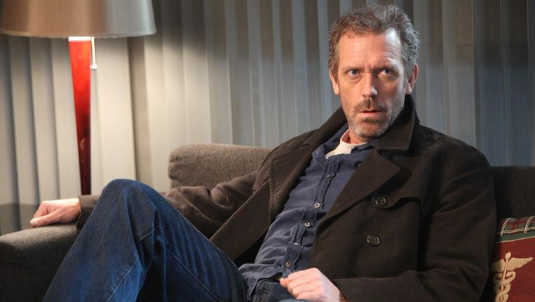 Hugh Laurie als House.
