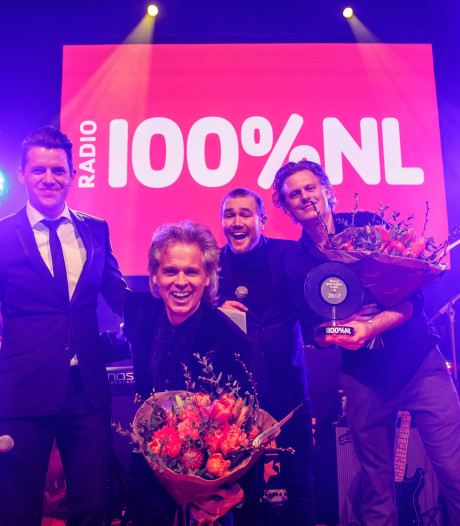 BLØF grote winnaar bij de 100% NL Awards