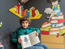 Dit is Joachim (8), illustrator voor J.K. Rowling