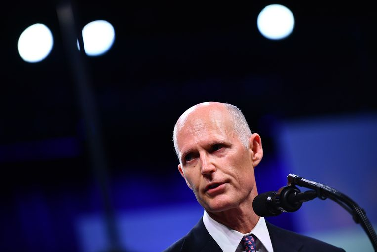 Rick Scott, gouverneur van Florida.