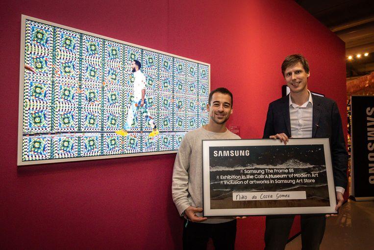 Niko da Costa Gomez wint expositieplek in Cobra Museum