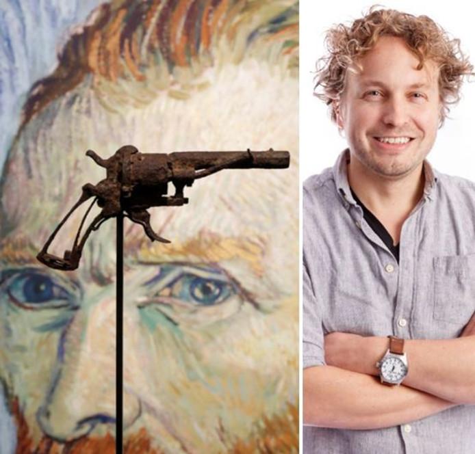 De revolver van Vincent van Gogh werd geveild. Is dat niet raar, vroeg columnist Niels Herijgens zich af, een zelfmoordwapen in de schijnwerpers zetten?