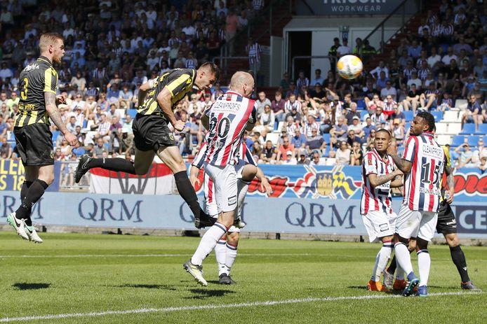 Willem II - Vitesse eindigde afgelopen seizoen in 2-2.