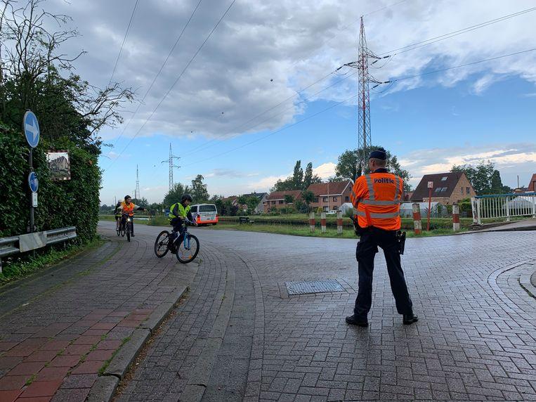 De Lokale Politie Voorkempen zet aan scholen extra in op verkeersveiligheid.