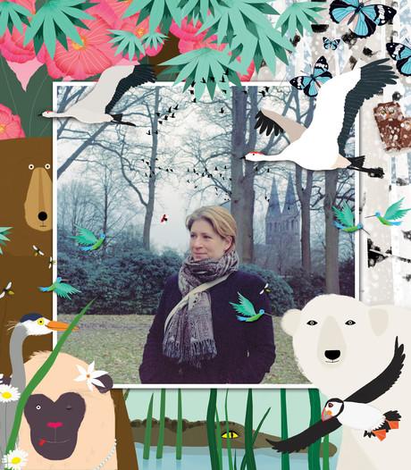 Eindhovense illustrator Kerstin Zabransky maakt vierde kinderboek