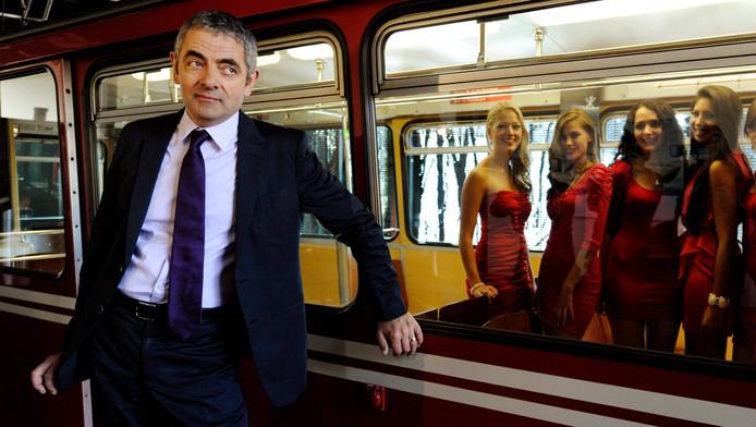 Rowan Atkinson doet promotie voor Johnny English 2.