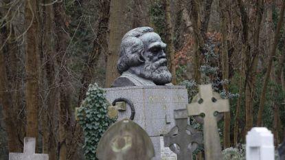 Graf Karl Marx voor tweede keer in een maand geschonden