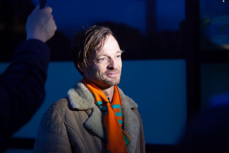 Rikko Voorberg, voorzitter van de stichting We Gaan Ze Halen, vlak voor vertrek naar Griekenland. Beeld Maarten Hartman