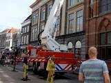 Brandweer doet onderzoek naar brandlucht in Statenzaal