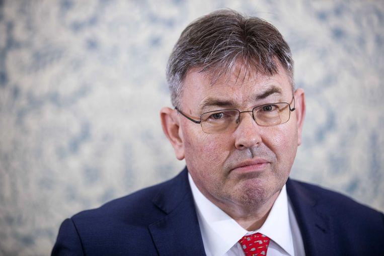 Derk Jan Eppink, EU-lijsttrekker namens FvD. Beeld ANP