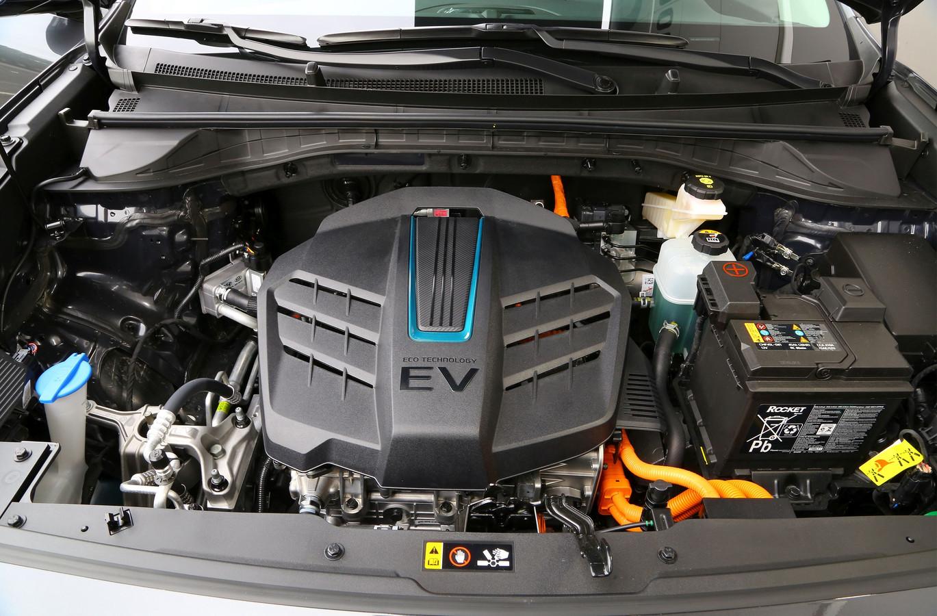 De elektrische motor van de Kia e-Niro.