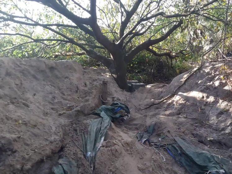 Woedende dakloze in Haagse duinen weigert hulp