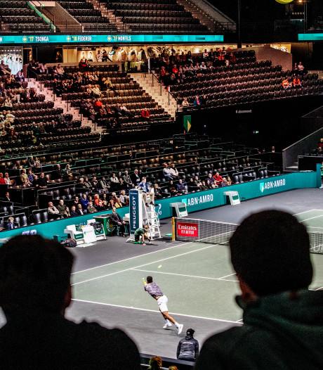 Zonder echte toppers beleeft Ahoy een gezapig tennistoernooi