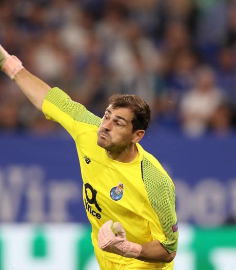Weer record voor Casillas: twintig seizoenen op rij CL