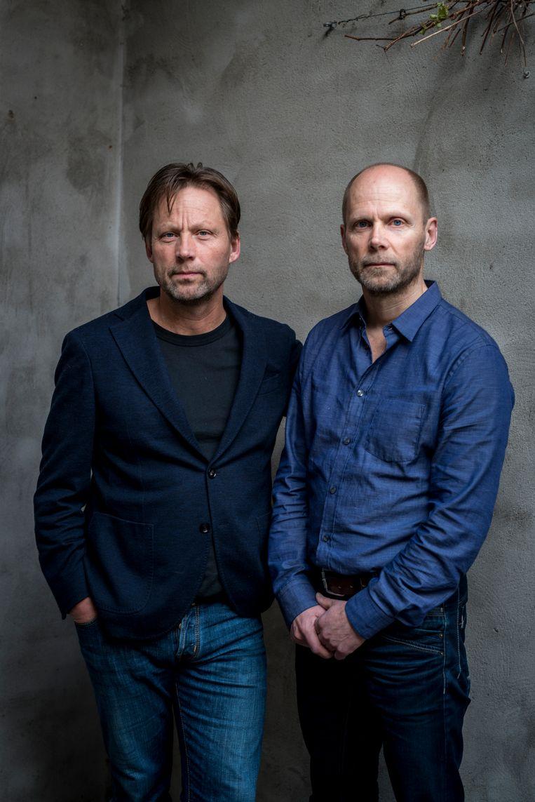 De broers Hans en Wim Faber. Wim Faber is de vader van de in 2017 door Michael P. vermoordde Anne Faber. Hans Faber is al die tijd woordvoerder geweest en heeft een boek geschreven over deze periode 'Anne', uitgeverij Lebowski. Beeld