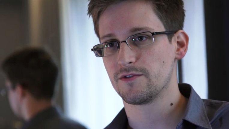 Edward Snowden Beeld AFP