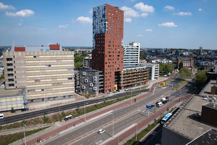 Het complex De Nimbus in Nijmegen.