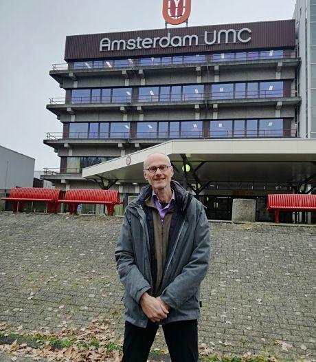 Oud-Enschedeër Gerben is onderzoeker in Amsterdam, maar de UT werkt niet mee aan zijn onderzoek
