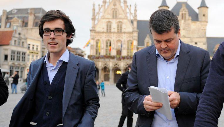 Kristof Calvo en Bart Somers.