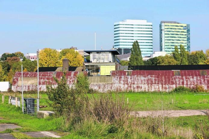 Het huidige bedrijventerrein in Meinerswijk. Foto Gerard Burgers
