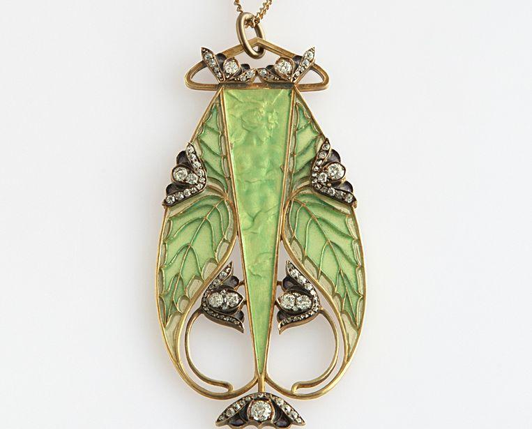 'Naiade', van de Franse juwelenontwerper René Lalique.  Beeld Musee Lalique
