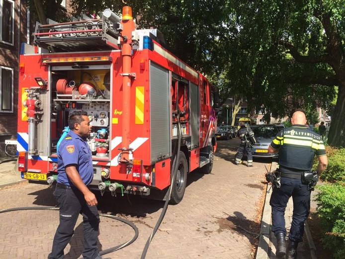 Brand in appartement aan De Sitterstraat in Eindhoven