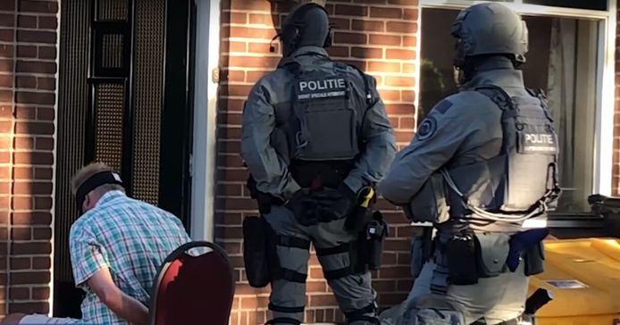 De politie ontmantelde op 6 augustus 2020 een crystal meth-lab in Montfoort, op het terrein van Nico V. (59) aan de Achthoven Oost.