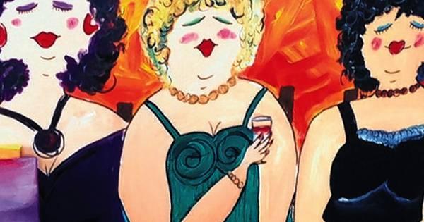 39 dikke dames schilderen 39 op je vrijgezellenfeest cultuur for Dikke dames schilderen