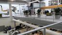 Ruimte van Summa College in de Brainport Industries Campus. Koning Willem-Alexander doet donderdag bij de opening onder meer deze locatie aan.